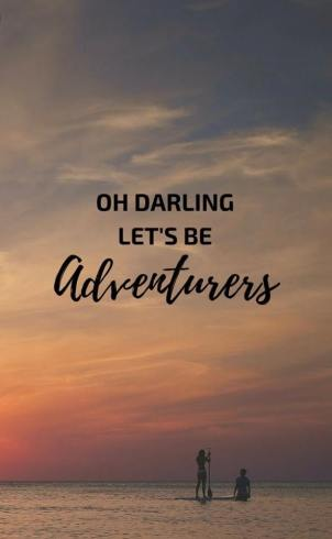 lets be advernturous
