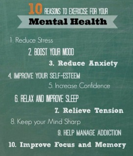 exersise for mental health