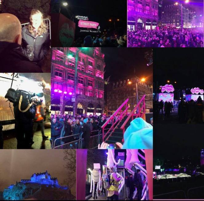 hogmanay edinburgh street party 2018