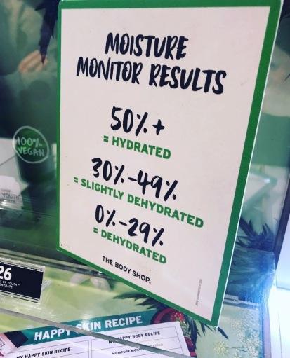moisture results