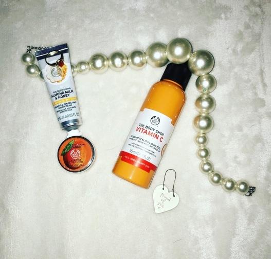 vit c and almon milk and honey